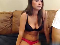 Milking my boyfriends lengthy and hard shlong tube porn video