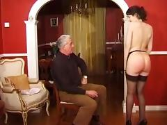 Caning and fucking tube porn video