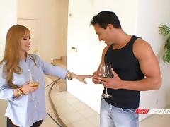 An unsatisfied MILF cheats with a much younger guy tube porn video