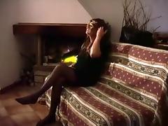 Homemade Crossdresser Dildoing Alone tube porn video