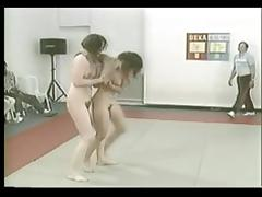 Hairy Milfs Catfight Comp. tube porn video