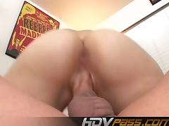 HDVPass Kinky slut Sasha blows dick and fucks tube porn video