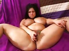 Cute Tattooed Chubby Brunette Huge Tits tube porn video