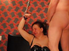 Ugly Arab Russian Slut Chained up, Face Fucked CIM BDSM tube porn video