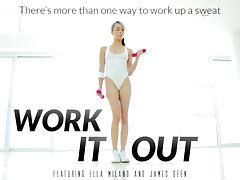 Ella Milano & James Deen in Work It Out Video tube porn video