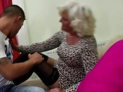 Granny slut suck and fuck young hard cock tube porn video