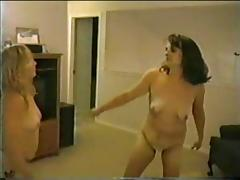 Bulky Non-Professional Catfight (two) tube porn video