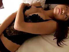 Japanese girls black stockings tube porn video