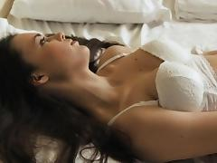 Nice sweetie stretches wet kitty and gets deflorated tube porn video