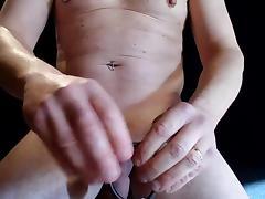 cbt - ball kicking tube porn video