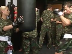 European Army tube porn video