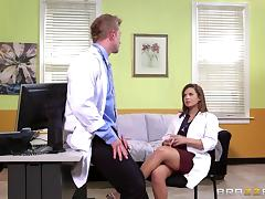 Resident slutty doctor loves getting fucked in the hospital tube porn video