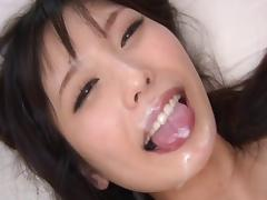 Horny damsel empty cum from her dude's cock before letting her pussy get wrecked tube porn video