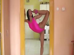 flexible brunette Alexa 2 tube porn video
