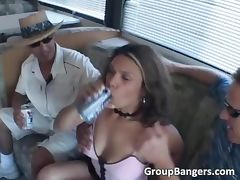 Captured in famous bang van tube porn video