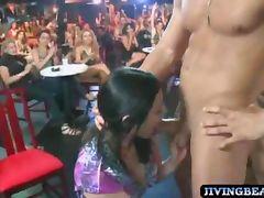 Birthday girl sucks stripper cock tube porn video