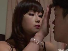 japanese milf seduces young man tube porn video