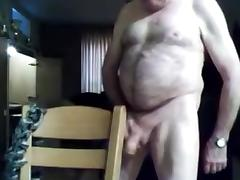 grandpa stroke and play on cam 1 tube porn video