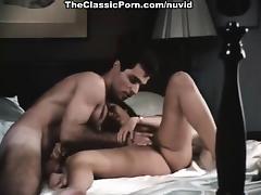 Veronica Hart, Robert Kerman, Mistress Candice in vintage tube porn video