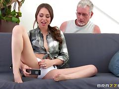 Horny cuckold watches his gorgeous wife fuck a hunky guy tube porn video