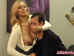 Julia Ann Milks Stepson before his Date! tube porn video