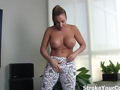 Richelle Ryan makes your dick hard! tube porn video
