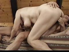 granny teaches sex lessons to a gentleman @ real hardcore swingers tube porn video