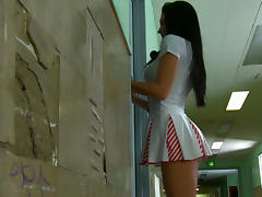 Best Candy Stripper at the hospital tube porn video