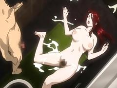 Japanese hentai hardcore fucked in the bathroom tube porn video