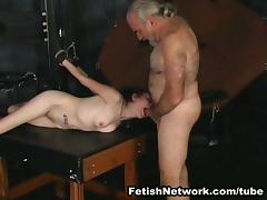 Horny slaves love to suck hard pricks tube porn video