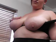 Photosession with bbw leads to fuck date tube porn video