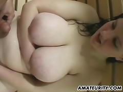 Chubby girl in the sauna sucking toes and dick erotically tube porn video