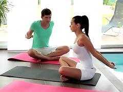 Relaxxxed - Ferrera Gomez hardcore yoga fuck session tube porn video