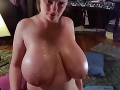 Titty Fuck w Cum! tube porn video