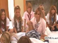 Subtitles Japanese schoolgirls sexual truth or dare tube porn video