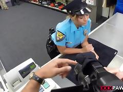 Fucking Ms. Police Officer - XXX Pawn tube porn video
