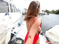 Getting penetrated on the luxurious yacht is just what Layla needed tube porn video