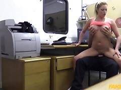 Holly in Hot gym MILF pulled over and fucked - FakeCop tube porn video