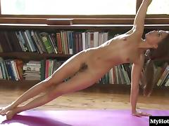 Riley Reid has a lot of yoga to practice tube porn video