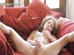 Fingers in her super tight vagina tube porn video