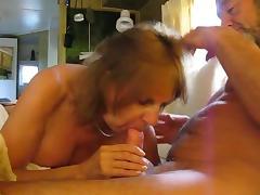 Pierced nipple tugging tube porn video