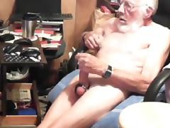 Grandpa cum on cam 10 tube porn video