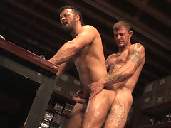 Ricky Sinz & Manuel DeBoxer in Rear Deliveries, Scene #03 tube porn video