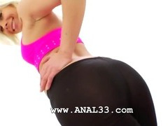 huge black dildo in her tight butthole tube porn video