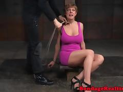 Restrained submissive bigtits tormented tube porn video