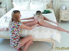 beauty real flexible contortion teen doll tube porn video