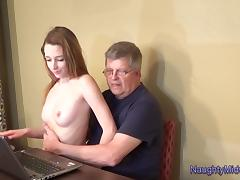 Lola Hunter - Babysitter Breeding Table Fantasy tube porn video