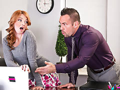 Marie McCray & Johnny Castle - NaughtyOffice tube porn video