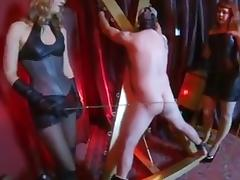Double caning tube porn video