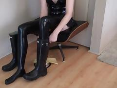Milking Over Hunter Wellies tube porn video
